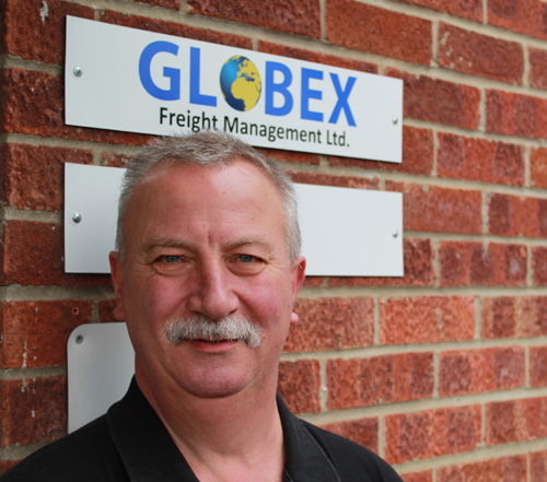 Andy Wilding, Globex Freight Management, Managing Director
